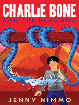 cover image of Charlie Bone and the Blue Boa