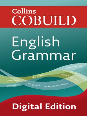 cover image of Collins Cobuild English Grammar