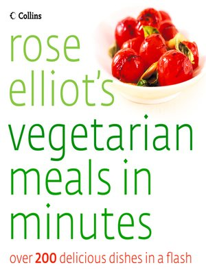 cover image of Rose Elliot's Vegetarian Meals In Minutes