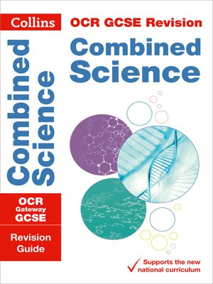 cover image of OCR Gateway GCSE 9-1 Combined Science Revision Guide