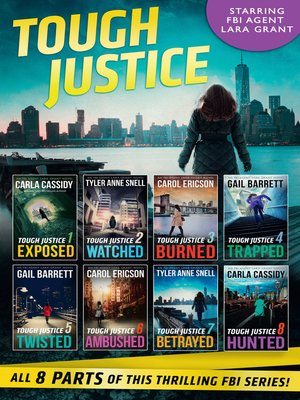 cover image of Tough Justice Series Box Set, Parts 1-8