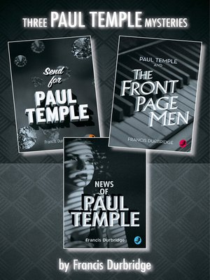 cover image of Paul Temple 3-Book Collection