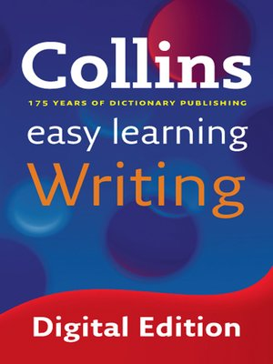 cover image of Easy Learning Writing