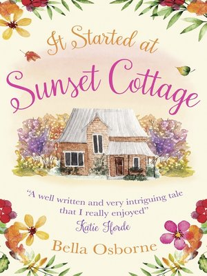 cover image of It Started at Sunset Cottage