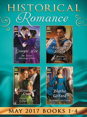 cover image of Historical Romance May 2017 Books 1--4