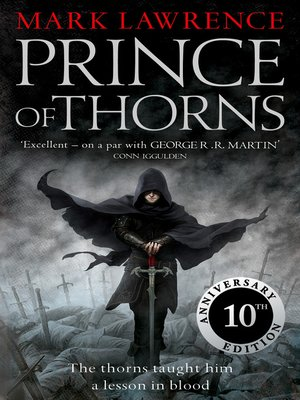 cover image of Prince of Thorns (The Broken Empire, Book 1)