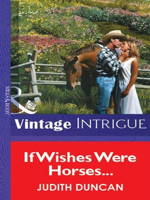 cover image of If Wishes Were Horses...