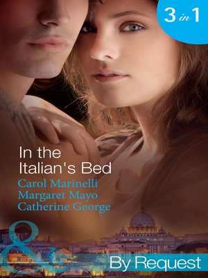 cover image of In the Italian's Bed