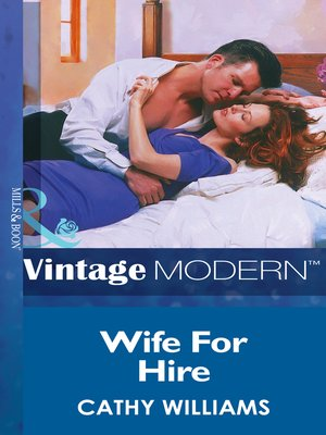 cover image of Wife For Hire