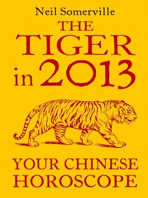 cover image of The Tiger in 2013