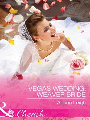 cover image of Vegas Wedding, Weaver Bride