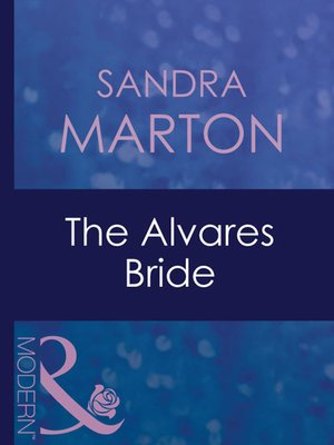 cover image of The Alvares Bride