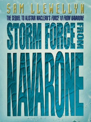 cover image of Storm Force from Navarone