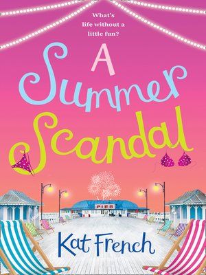 cover image of A Summer Scandal