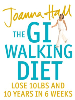 cover image of The GI Walking Diet