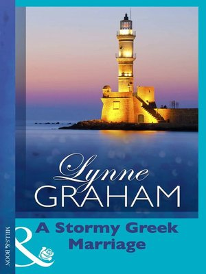 cover image of A Stormy Greek Marriage