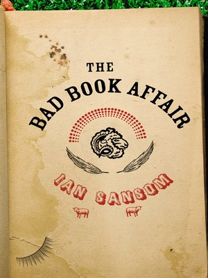 cover image of The Bad Book Affair