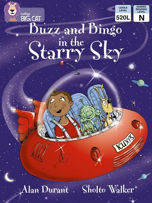 cover image of Collins Big Cat – Buzz and Bingo in the Starry Sky