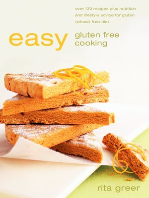 cover image of Easy Gluten Free Cooking