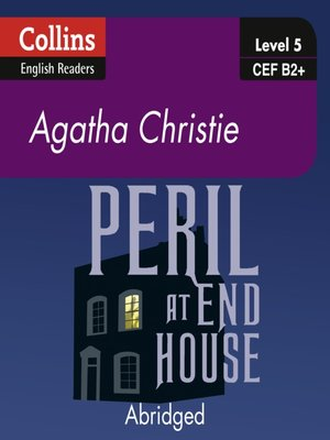 cover image of Peril at End House - Collins ELT Readers B2
