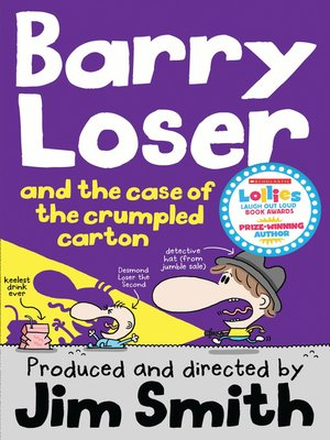 cover image of Barry Loser and the Case of the Crumpled Carton