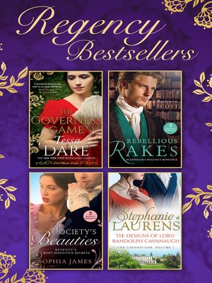 cover image of The Regency Bestsellers Collection