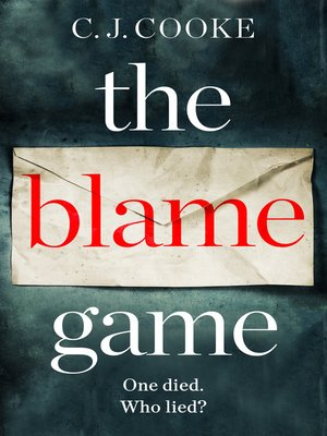 cover image of The Blame Game