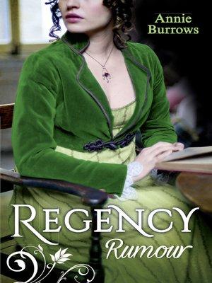 cover image of Regency Rumour