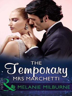 cover image of The Temporary Mrs Marchetti