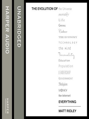 cover image of The Evolution of Everything