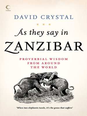 cover image of As They Say In Zanzibar