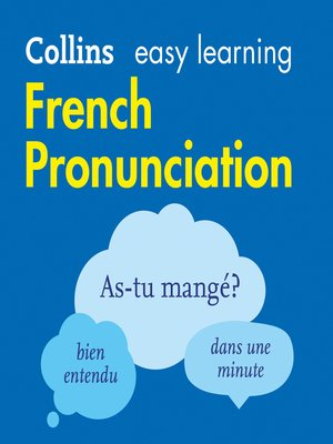 cover image of French Pronunciation