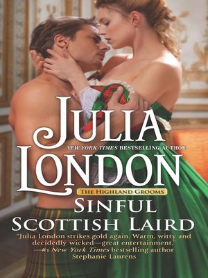 cover image of Sinful Scottish Laird