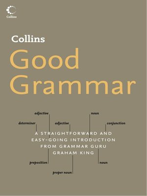cover image of Collins Good Grammar