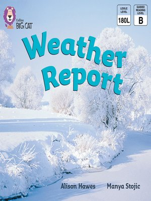 cover image of Collins Big Cat – Weather Report