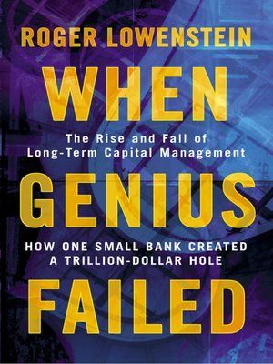 cover image of When Genius Failed