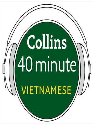 cover image of Vietnamese in 40 Minutes