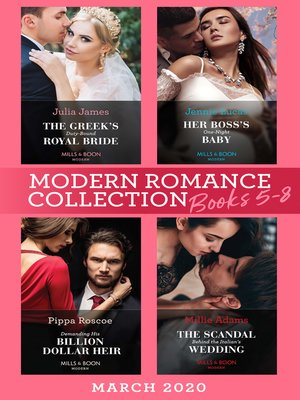 cover image of Modern Romance March 2020 Books 5-8