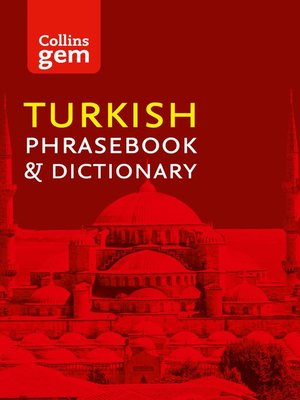 cover image of Collins Turkish Phrasebook and Dictionary Gem Edition