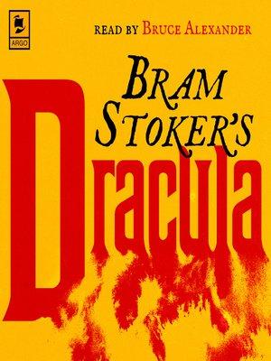 cover image of Dracula (Argo Classics)