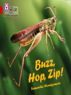 cover image of Collins Big Cat Phonics for Letters and Sounds – Buzz, Hop, Zip!
