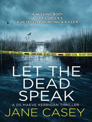 cover image of Let the Dead Speak