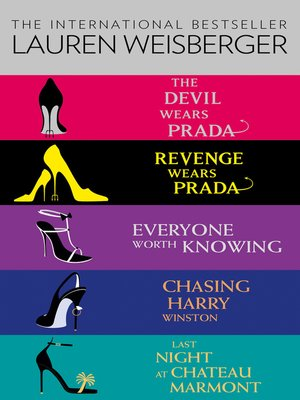 cover image of Lauren Weisberger 5-Book Collection