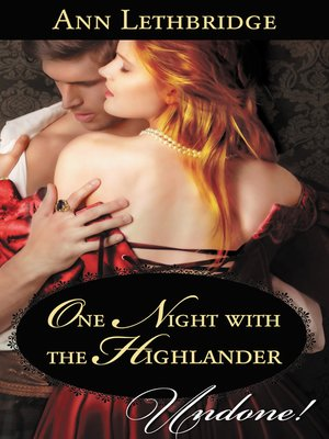 cover image of One Night with the Highlander