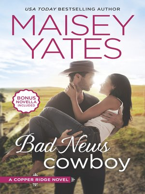 cover image of Bad News Cowboy