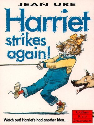 cover image of Harriet Strikes Again