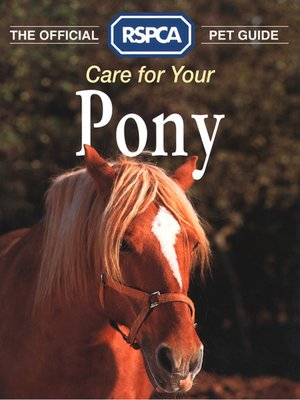 cover image of Care for your Pony
