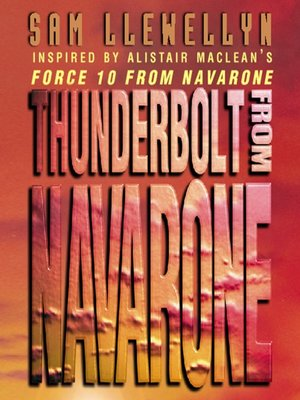 cover image of Thunderbolt from Navarone