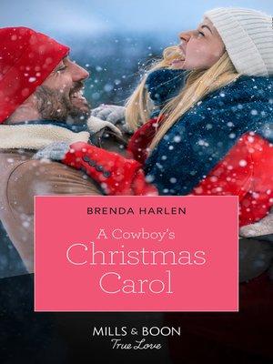 cover image of A Cowboy's Christmas Carol
