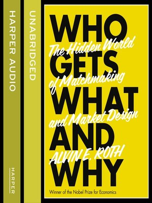 cover image of Who Gets What--And Why